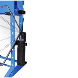 30 Ton Workshop Press •  Manually Operated • Hand/Foot Pump • Fixed Cylinder • 565 mm Working Width