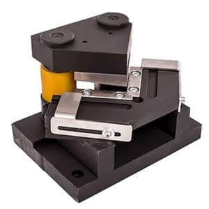 Metal sheet angle tool front view