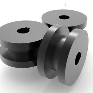 Profile Bender Square Steel Rolls