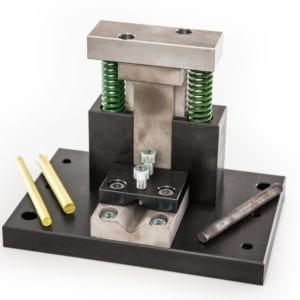 Rod cutter tool for workshop press
