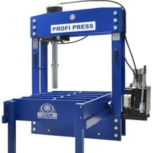 Portal Press front view with movable frame