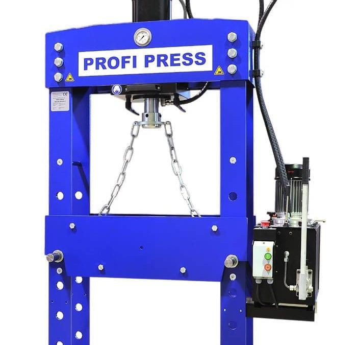 30-ton hydraulic press