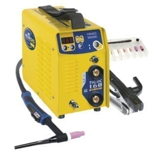 TIG 160 DC Lift Welder front view