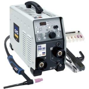 TIG 200 DC HF FV spec sheet