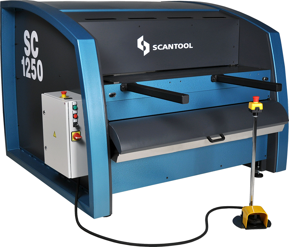 Scantool 1250 40 Strokes Guillotine Shear for Metal