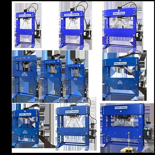 horizontal hydraulic press HB-28