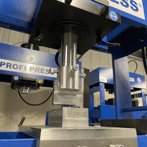 Motorised Workskhop Press Working table, toolholder, and press brake tool